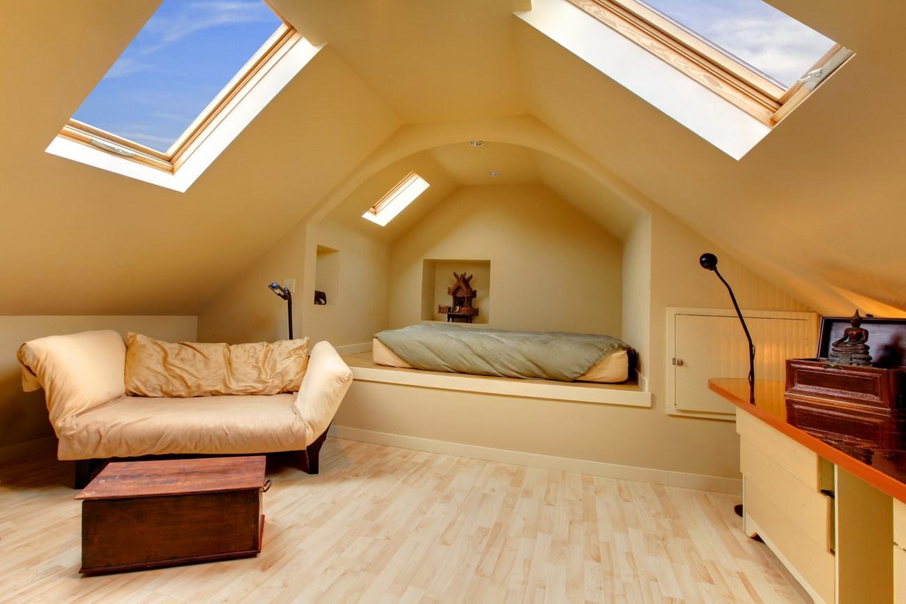 Крыша мансарда фото варианты отделки фото